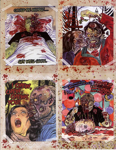 Zombie greeting cards buyzombie zombie greeting cards for that special occasion give a zombie greeting card the gift that keeps on living each of these packs come with cards for m4hsunfo