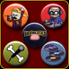 Braineataz – Button Pack