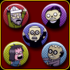 Zombies – Button Pack (series A)