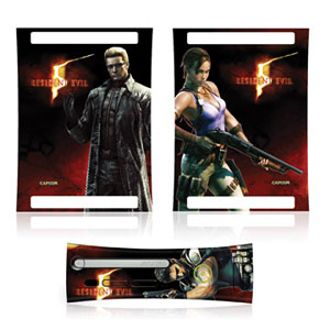 res5 360 faceplate Resident Evil 5 Characters Faceplate and Side Skins For 360