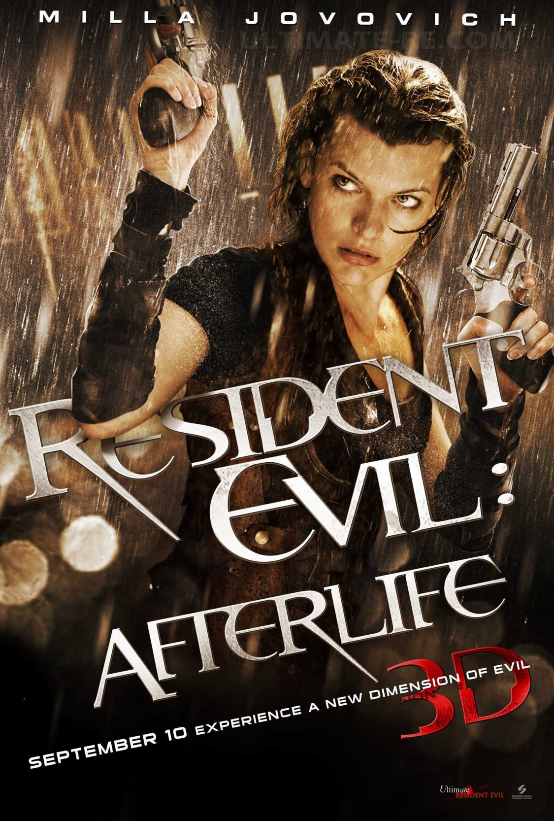 Resident Evil Afterlife 2010 In 2020 Resident Evil Movie Resident Evil Best Zombie Movies