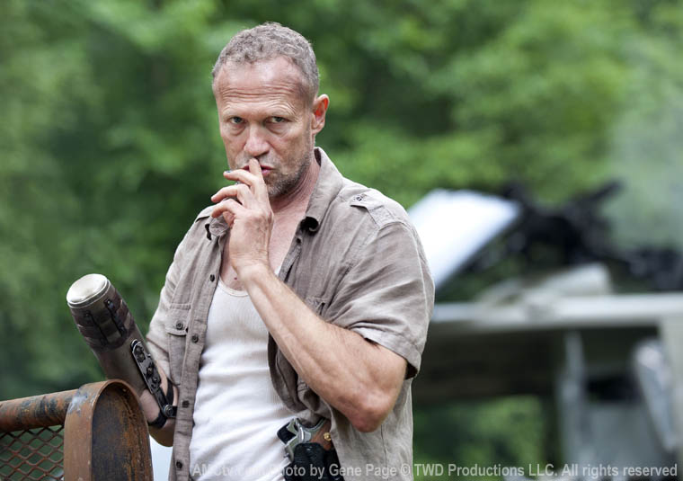 twd s3 preproduction 01 The Walking Dead Makes Merles Return Official