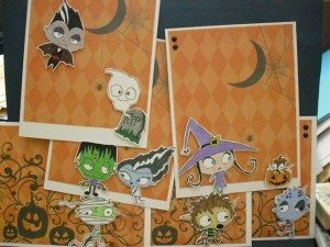 40cards 300x225 The Ultra Nifty Super Thrifty Guide to Handmade Zombie Goods