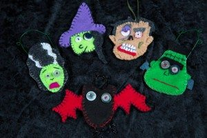 40ornaments 300x200 The Ultra Nifty Super Thrifty Guide to Handmade Zombie Goods