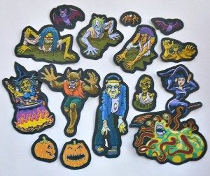 40stickers 300x252 The Ultra Nifty Super Thrifty Guide to Handmade Zombie Goods