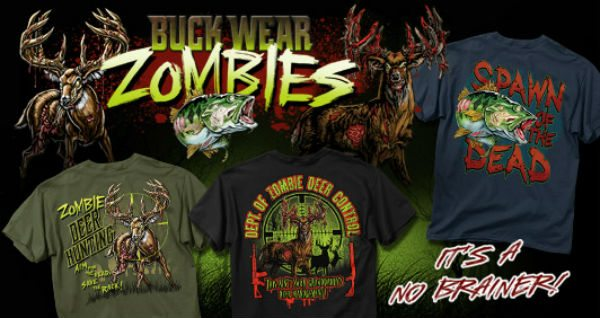buckwear zombies Zombie Deer Hunting Shirts Giveaway!