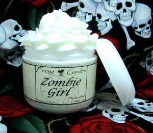 43zombiegirllotion 300x261 The Ultra Nifty Super Thrifty Guide to Handmade Zombie Goods