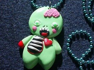 44gingerbreadman 300x225 The Ultra Nifty Super Thrifty Guide to Handmade Zombie Goods