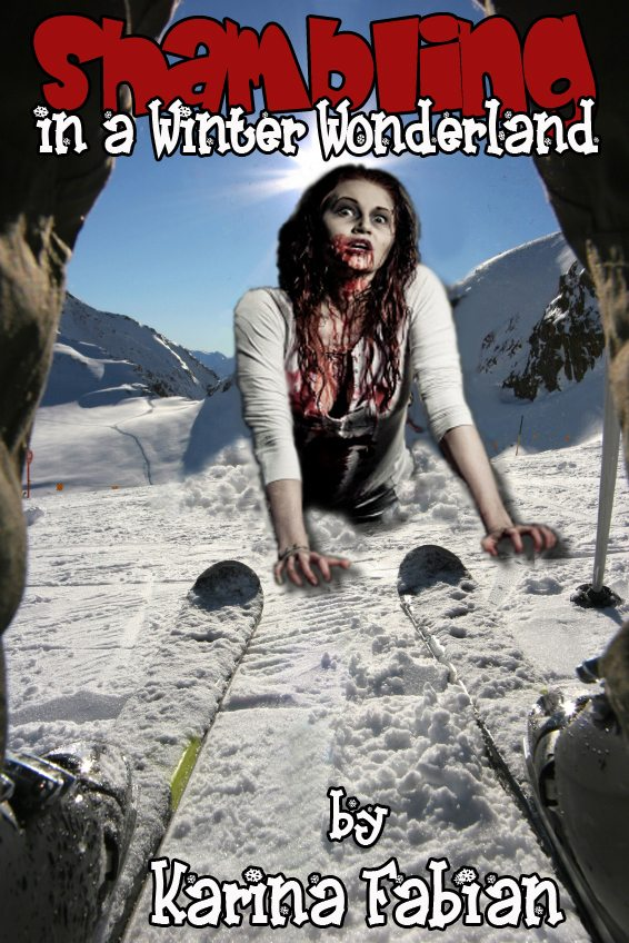 shambling in a winter wonderland Karina Fabian is releasing zombies for charity!