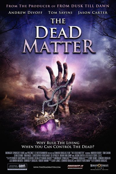 the dead matter The Dead Matter available on RedBox