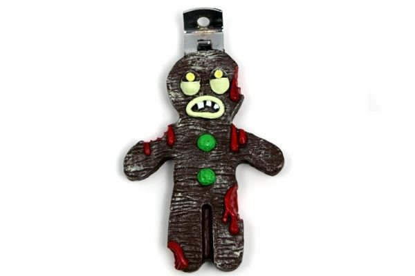 zombie gingerbread man Gingerbread Zombie Bottle Opener