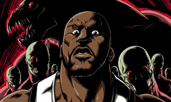 shawdown01 Want Shaqs Career to come back like the undead? Maybe battling zombies will do it for him!