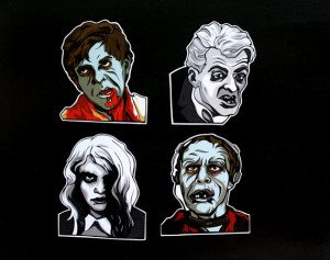 49stickers 300x237 The Ultra Nifty Super Thrifty Guide to Handmade Zombie Goods