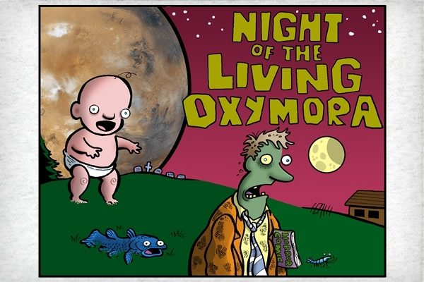 NightoftheLivingOxymora Night of the Living Oxymora Shirt
