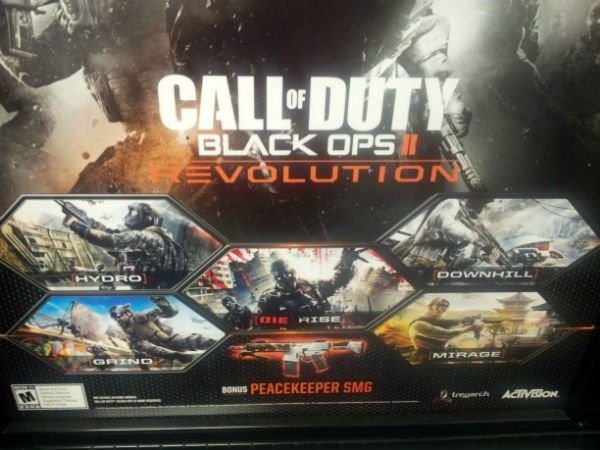 call of duty revolution Call of Duty Black Ops II DLC coming on January 29th