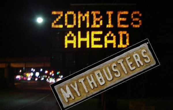 mythbusters Be a MYTHBUSTERS Zombie!