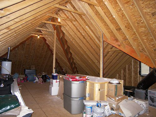 attic Shelter in Place and the home Emergency Kit