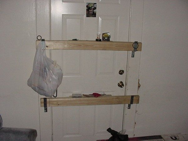 barricaded door Shelter in Place and the home Emergency Kit
