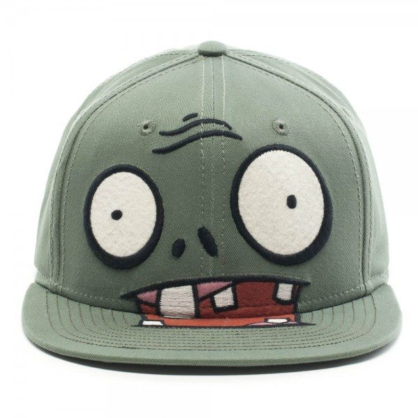 pvzhat Plants vs Zombies Zombie Face Hat
