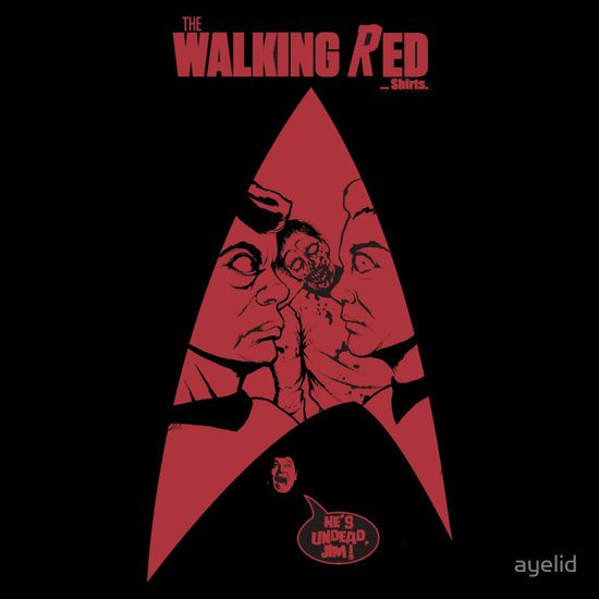 the walking red The Walking Red...Shirts