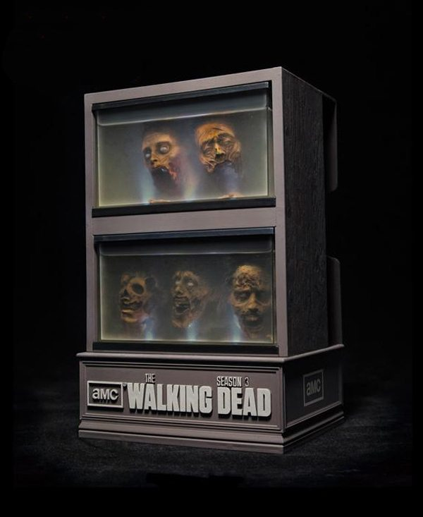 twd s3 casea The Walking Dead Season 3 Blu Ray Special Edition Packaging Revealed