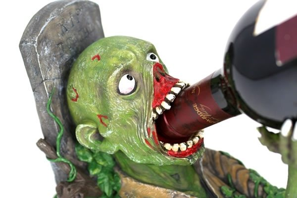 zombiewinebottle Zombie Wine Bottle Holder