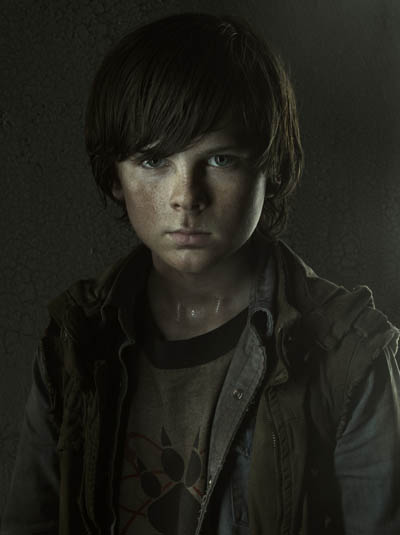 carl The Walking Dead Q&A   Chandler Riggs (Carl Grimes)