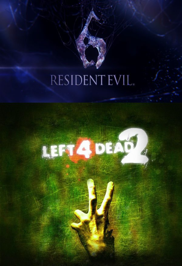 re6l4d1 Screenshots of new RE6/L4D2 crossover