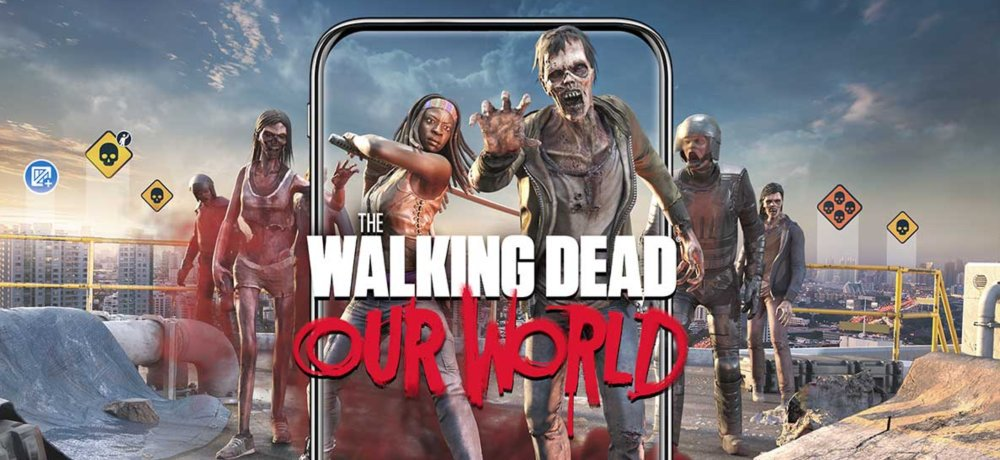 'The Walking Dead: Our World' Video Celebrates the Launch of the New Augmented Reality Mobile Game from AMC and Next Games