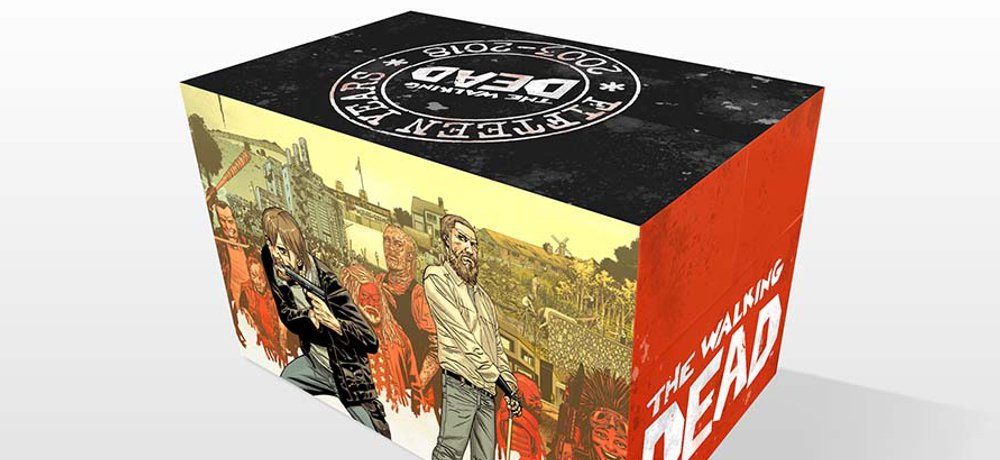 'The Walking Dead' Comic Book Series 15th Anniversary Box Set Announced by Image Comics/Skybound