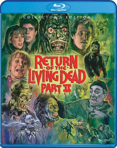 Scream Factory Is Calling For BBRRAAIINNSS With This 'Return Of The Living Dead 2' Release!