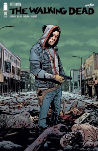 Carl Didn't Stay In The House In This Cover Of 'The Walking Dead' #192